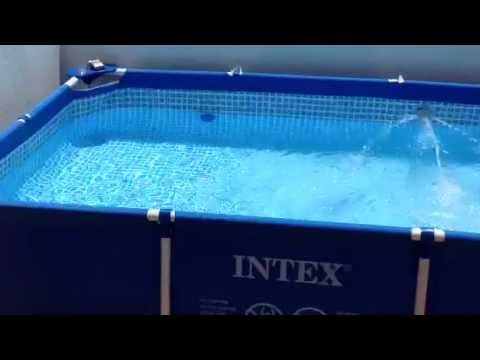 Pool intex 58980 260x160x65 intex 56686 1 4 hp intex for Renta de albercas portatiles para fiestas df