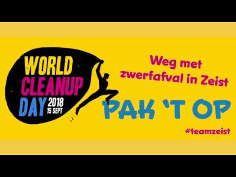 World Cleanup Day - troeptrimmen