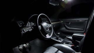 Audi B6 B7 A4 S4 Interior LED Installation Guide by USP Motorsports