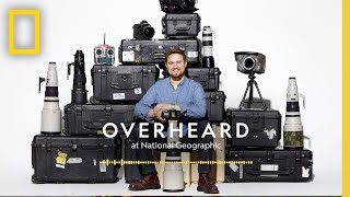 The Real-Life MacGyver in Nat Geo's Basement | Podcast | Overheard at National Geographic