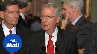McConnell still focused on healthcare reform despite collapse - Daily Mail