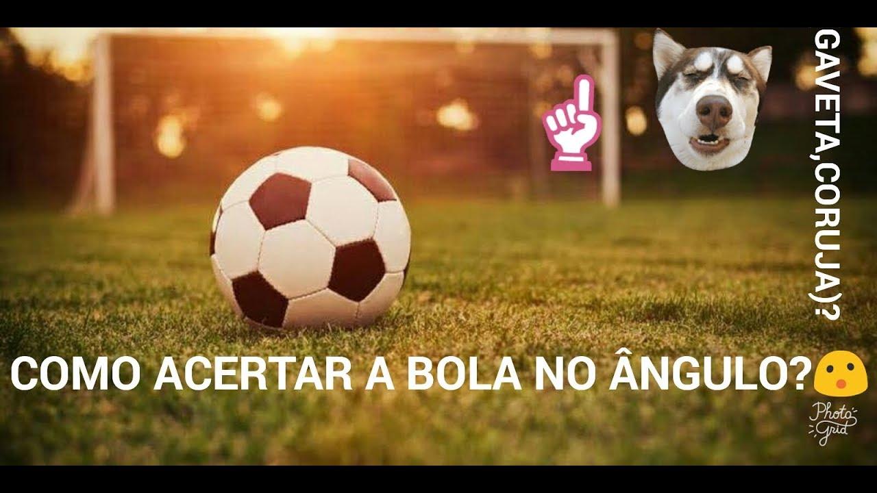f5b6cbf7dc655 Como chutar a bola no Ângulo! (CORUJA,GAVETA) - YouTube