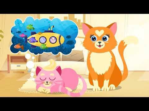 Розовый котёнок - Колыбельная сказка