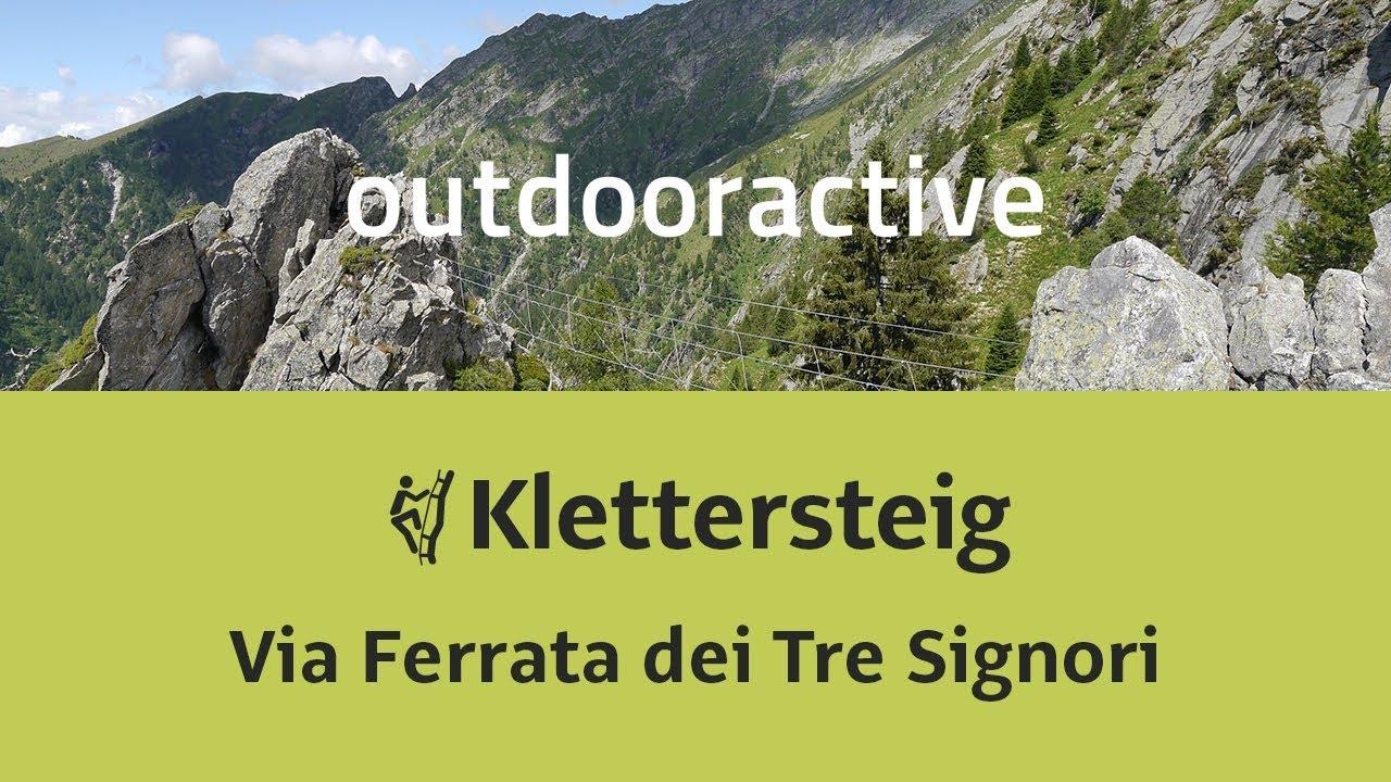 Klettersteig Immenstadt : Klettersteig in der schweiz: via ferrata dei tre signori youtube