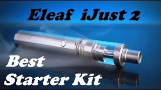 Eleaf iJust 2 - Best Starter Kit(Привет, друзья! Сегодня обзор-распаковка на недавно пришедший стартер кит от Eleaf - iJust 2 Очень крутой кит,..., 2015-11-03T15:59:56.000Z)