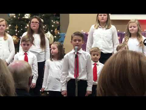 Grace Covenant Baptist Academy 2020 Christmas Program