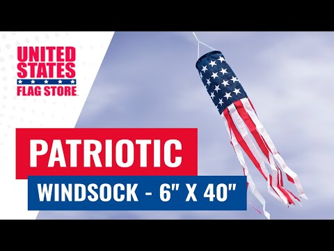 Patriotic Windsock - 6