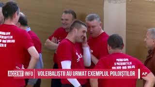 Voleibaliștii au urmat exemplul poloiștilor