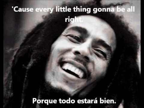 Bob Marley Three Little Bird Subtitulado Español E Ingles Youtube