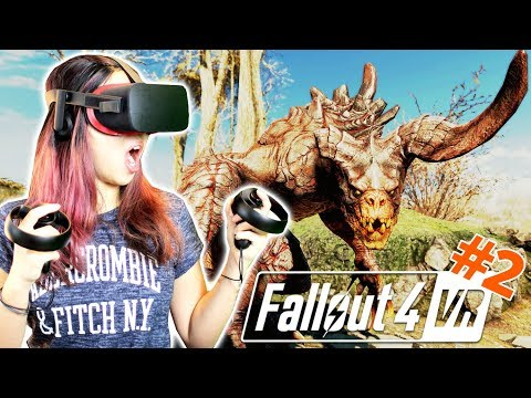 ENGAGING DEATHCLAW! (OCULUS + AUTOHOTKEY TUTORIAL) | Fallout 4 VR Gameplay #2 (Oculus Rift + Touch)