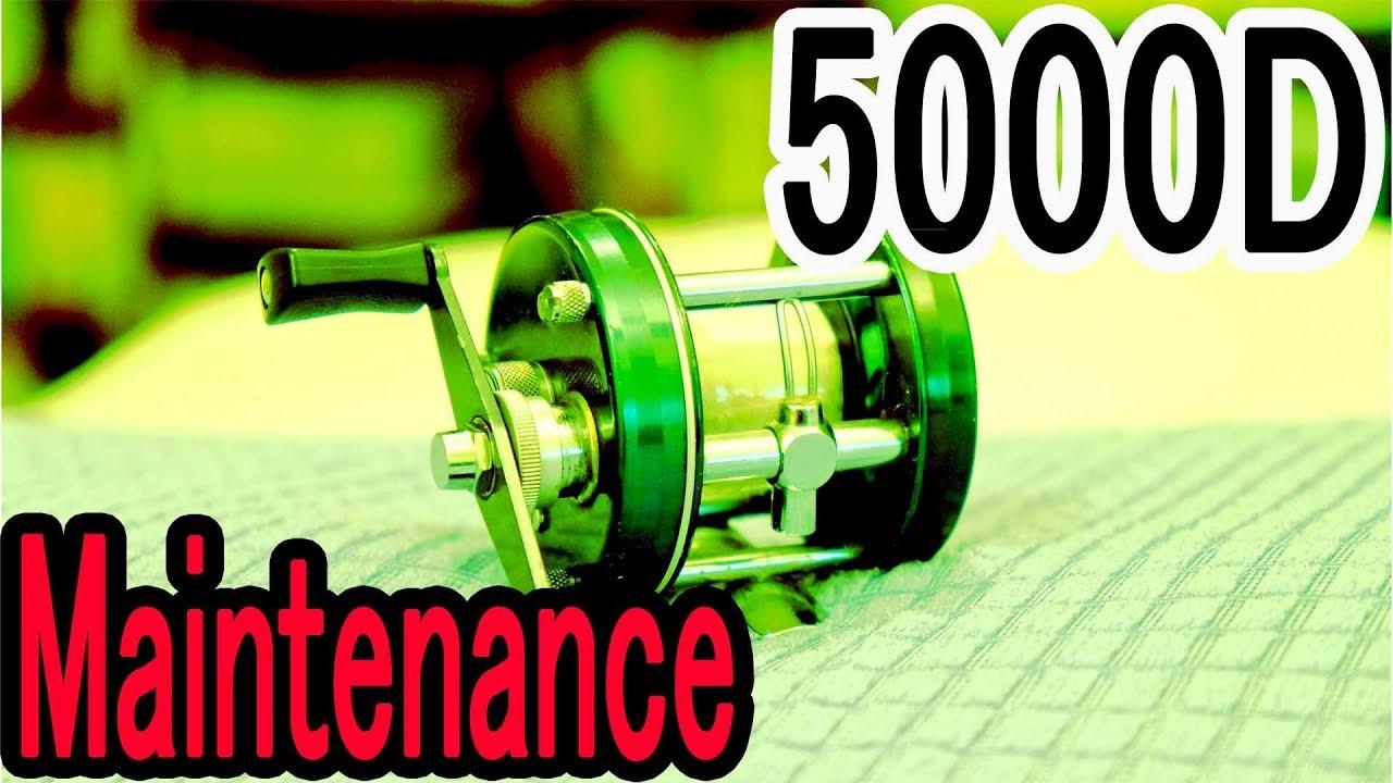 Ambassadeur 5000D Maintenance & Bass Fishing
