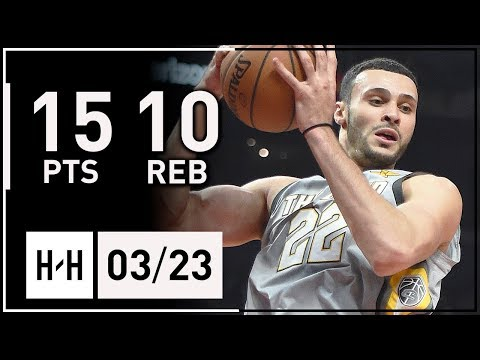 Larry Nance Jr. Full Highlights Cavaliers vs Suns (2018.03.23) - 15 Points, 10 Reb