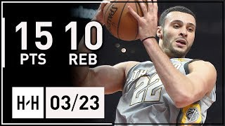 Larry Nance Jr. Full Highlights Cavaliers vs Suns (2018.03.23) - 15 Points, 10 Reb