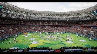 Abertura copa do mundo 2018 - RÚSSIA