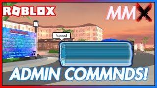 Utilisation de ADMIN COMMANDS dans ROBLOX MMX!