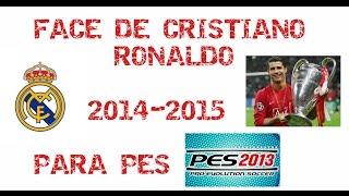 FACE DE CRISTIANO RONALDO PARA PES 2013 :) Thumbnail