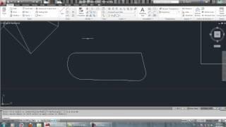 Dibujo basico, empalme, copiar, recortar, AutoCAD 2012