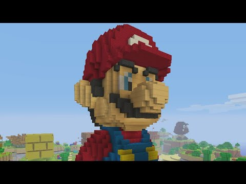 Super Mario Mash-Up Pack for Minecraft - Peach's Castle!