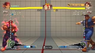 SSFIV~ Evil Ryu (I ErDem l) vs  T.Hawk (IND Incognitus) HD