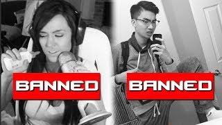 10 BANNED Twitch Streamers Who Took It WAY Too Far | Chaos thumbnail
