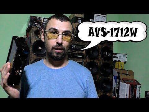 АВТОМОБИЛЬНЫЙ МЕДИА РЕСИВЕР ACV AVS 1712W как работает магнитола за 1400 рублей  как работает
