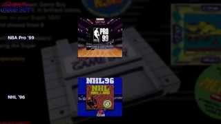 [SGB] 海外のスーパーゲームボーイ対応ソフト ピクチャーフレームカタログ [2] [HD]