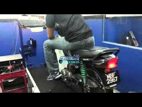 Honda EX5 Fully Modified @ 120km/h - Motodynamics Technology Malaysia