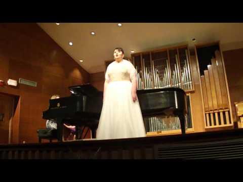 stacy's senior recital