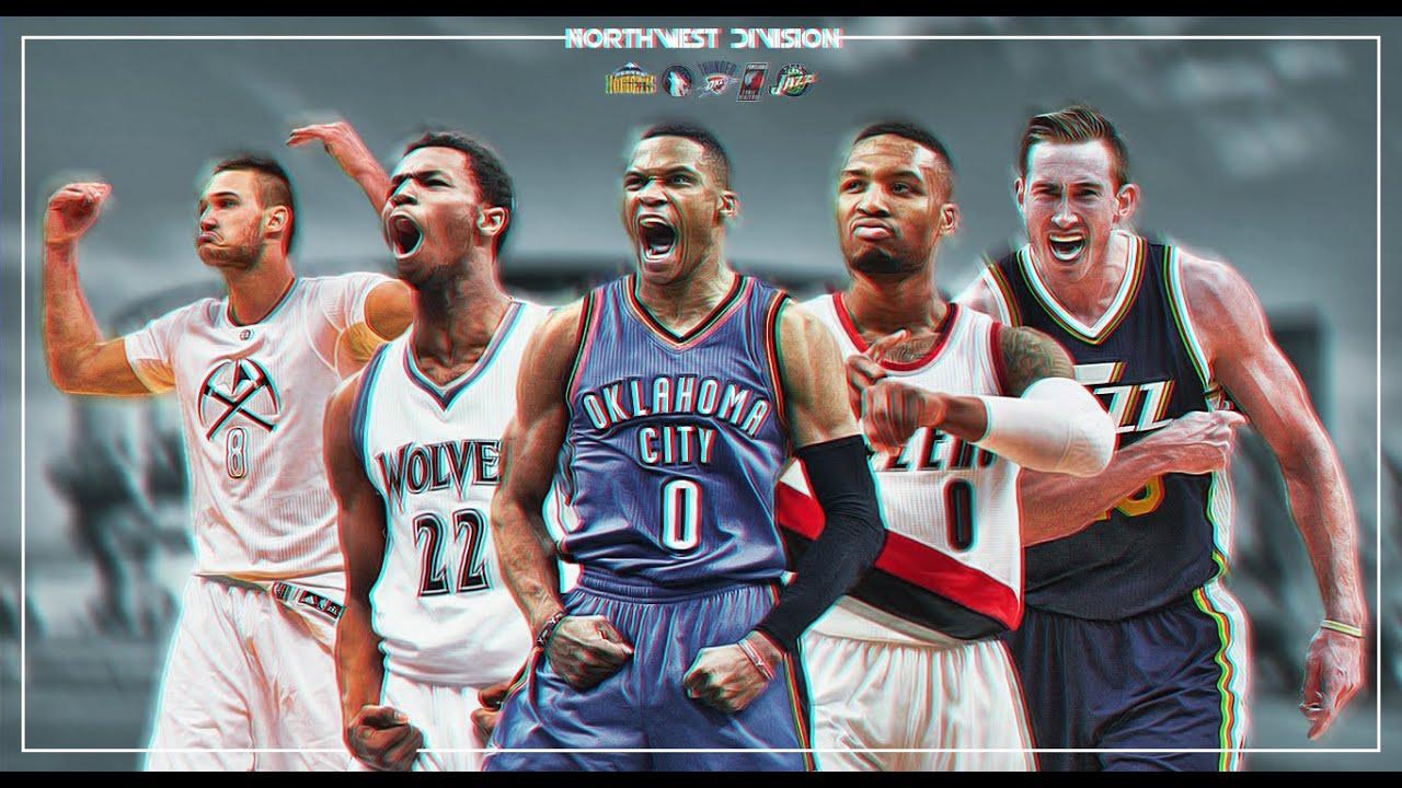 Northwest Division NBA Wallpaper SpeedArt YouTube