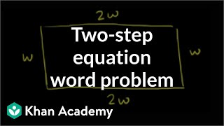 Word problem: solving equations | Linear equations | Algebra I | Khan Academy