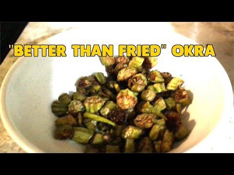 Baked Okra   Better Than Fried