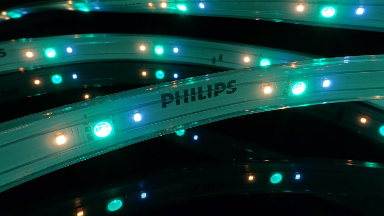 Unboxing and Testing the Philips Hue Lightstrip Plus  YouTube