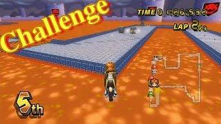 [MKWii Game] Bowser Castle 3 Super Shortcut Spam!