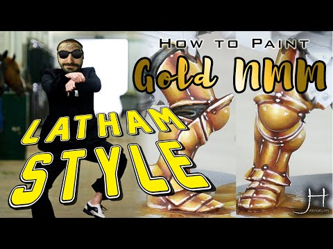How To Paint  - Gold NMM (Darren Latham Style)