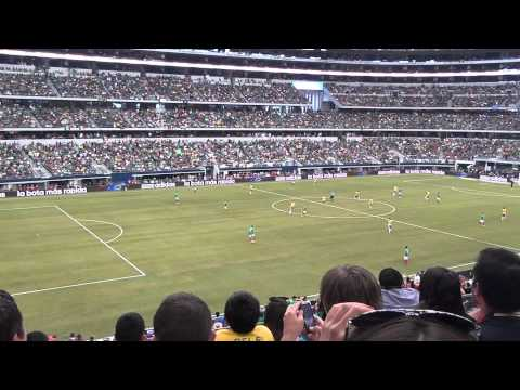MEXICO VS BRASIL At Cowboys Stadium Arlington Texas Futbol Soccer 6/03/12 Asi Lo Vivi!