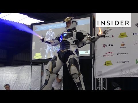 Amazing Iron Man Suit that Actually Works