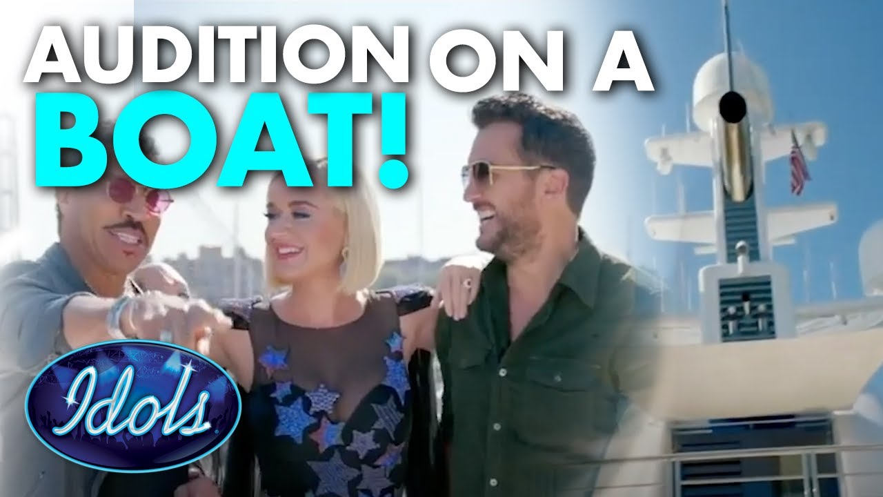 AMERICAN IDOL'S FIRST EVER AUDITION ON A BOAT ?! | Idols Global
