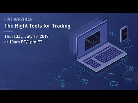The Right Tools To Start #Trading