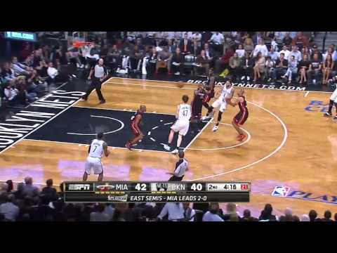 Miami Heat vs Brooklyn Nets - Game 3 Highlights - NBA Playoffs 2014