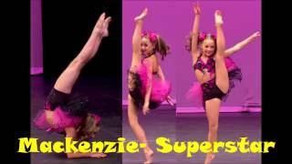 Dance Moms-Mackenzie-Superstar-Song (Edited)