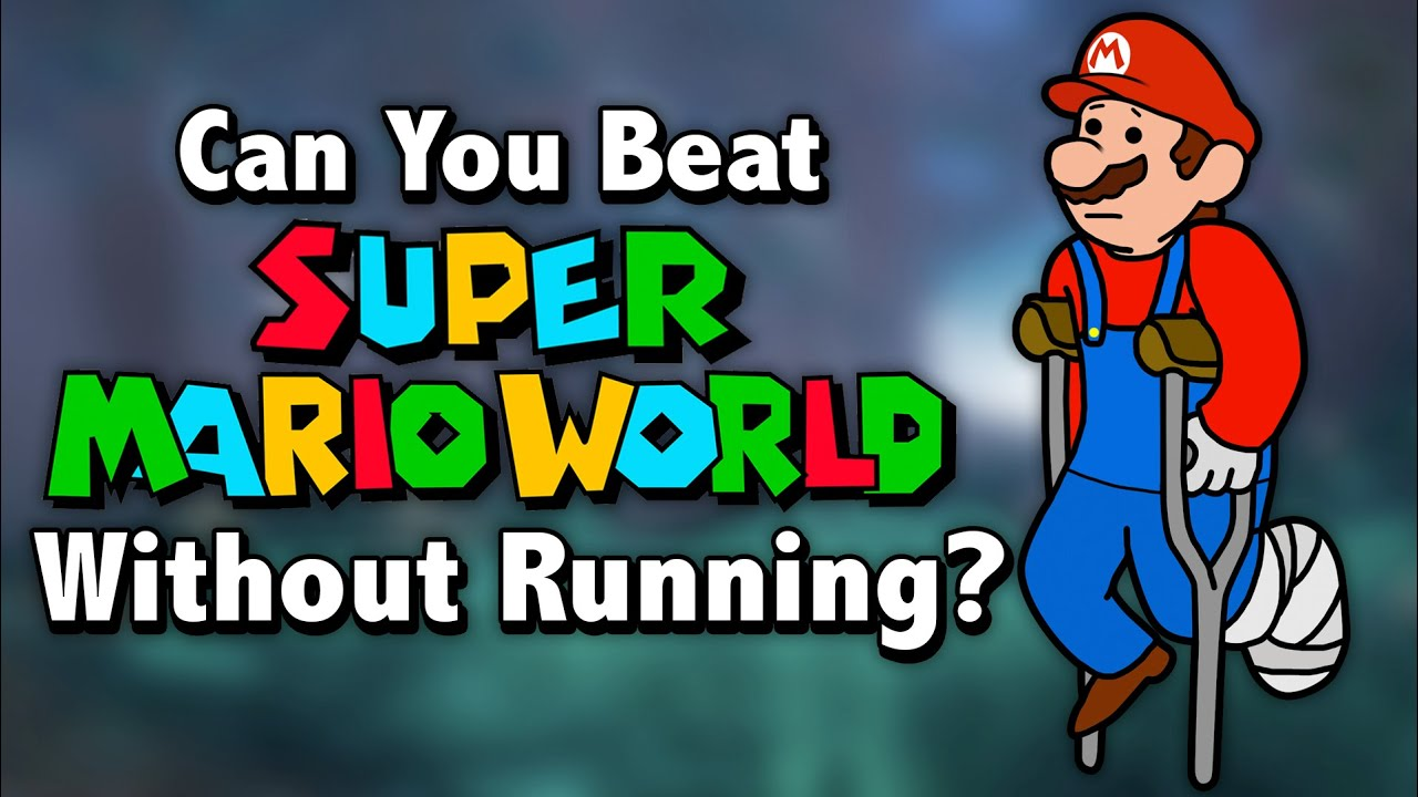 Can You Beat Super Mario World Without Running?