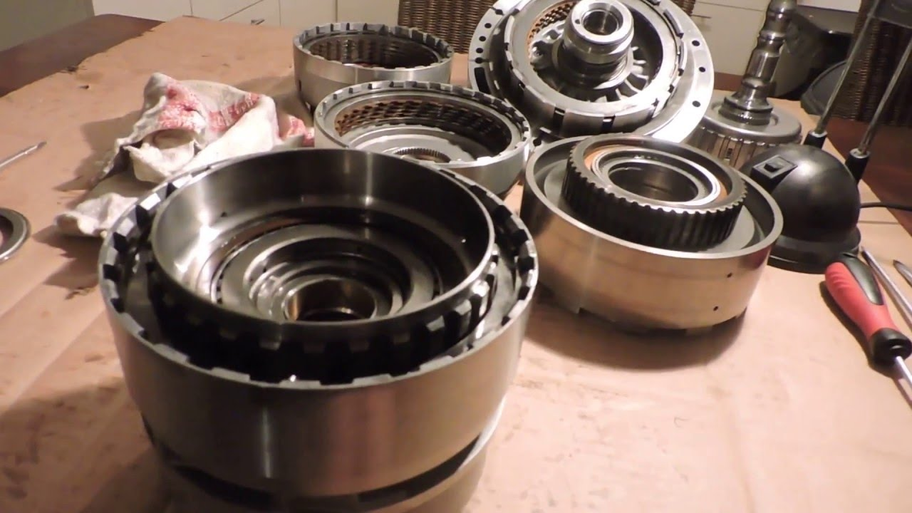 5HP18 Clutch Rebuild