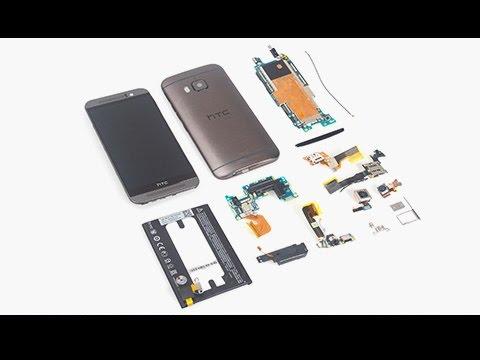 HTC One M9 Tear down – Battery/Screen Repair