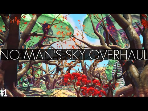 NO MAN'S SKY | RAYROD OVERHAUL MOD | EVERYTHING WE WANTED FROM NO MAN'S SKY [Atlas Rises 1.3 Update]