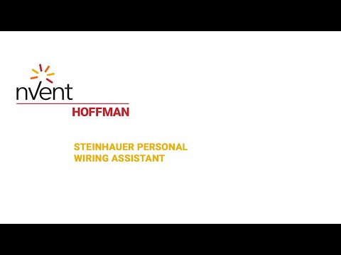 Steinhauer PWA (Personal Wiring Assistant) | Reduce Wiring Times By Up To 40% | nVent HOFFMAN