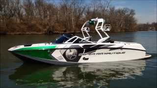2014 Super Air Nautique G23 - Green Metallic and Silver Cloud
