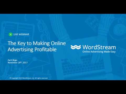 The Key To Making Online Advertising Profitable