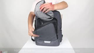 Vbiger Unisex Laptop Backpack Anti-theft Travel Backpacks