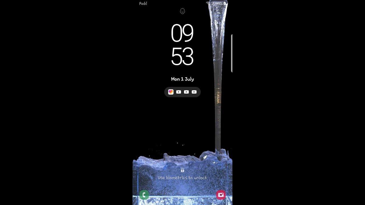 Water Drop Live Wallpaper Samsung Best Live Wallpaper 2019 Youtube