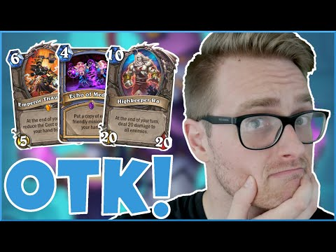 Hearthstone | A STORM Is COMING! | Wild Highkeeper Ra Exodia Mage | Saviors Of Uldum